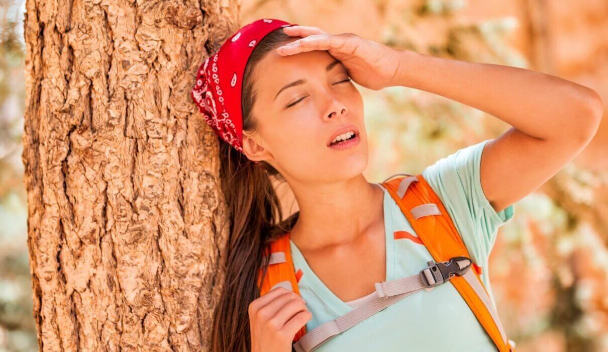 Nhức đầu do say nắng