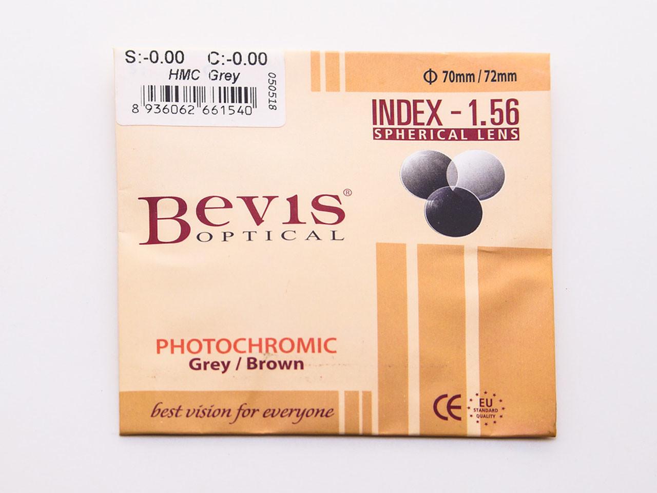 Tròng kính mát có độ Bevis