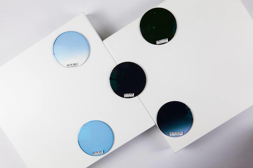 Tròng kính mát có độ Visual Tech